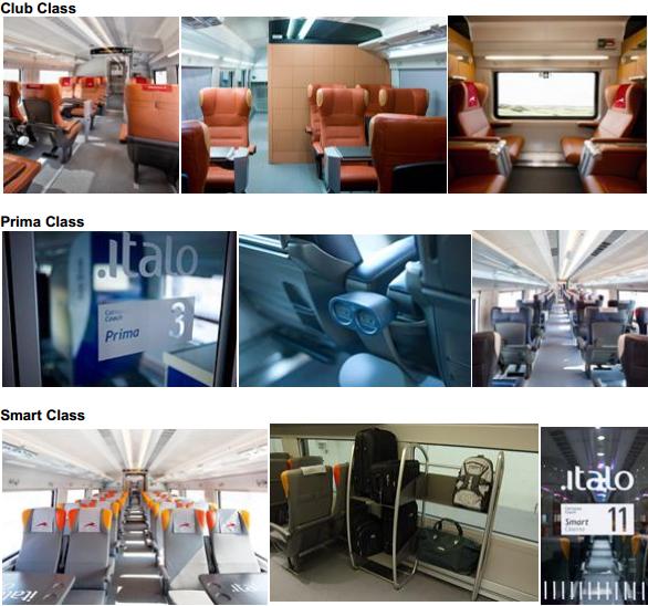 Поезда Italo